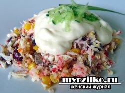 Рецепт приготовления салата «Восток – дело тонкое»