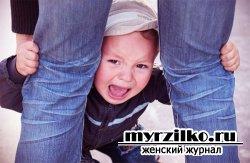 Детская истерика в раннем возрасте