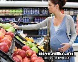 Какваш рацион питания влияет наребенка