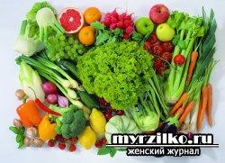 Овощи и фрукты - скрытно