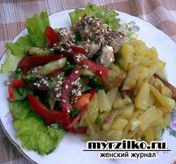 Рецепт приготовления салата «Сим-Сим»
