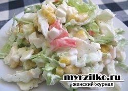 Салат из пекинской капусты под названием  «ПЕКИН»