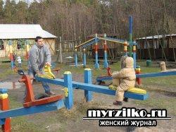 Осторожнее на детской площадке