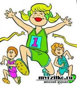 Дружба ребенка со спортом