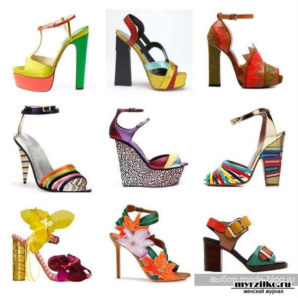 Какая обувь в весной модна будет