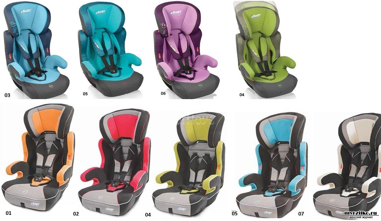 Детские кресла в машину фото