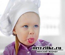 Как готовить еду вместе с детьми