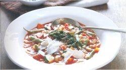 Овощной суп провансаль