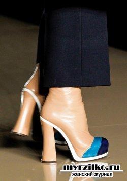 Какая обувь будет в моде зимой 2012-2013