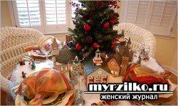 Новогодний постный стол